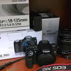 70d with lens