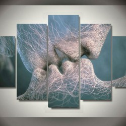Emoldurado-impresso-matrix-beijo-pintura-de-parede-imagem-da-art-room-decor-imprimir-imagem-do-cartaz